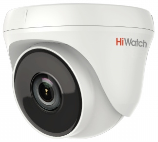 Видеокамера IP Hikvision HiWatch DS T233 2.8мм Белая видеокамера ip hikvision hiwatch ds i250 1080p 6 мм белый