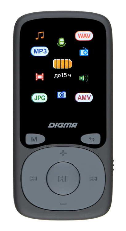 Плеер Hi-Fi Flash Digma B4 8Gb Черный