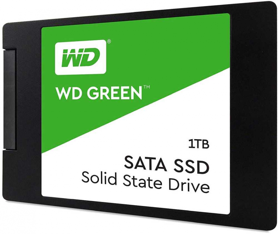 SSD накопитель Western Digital WD Green PC SSD 1 Tb (WDS100T2G0A)