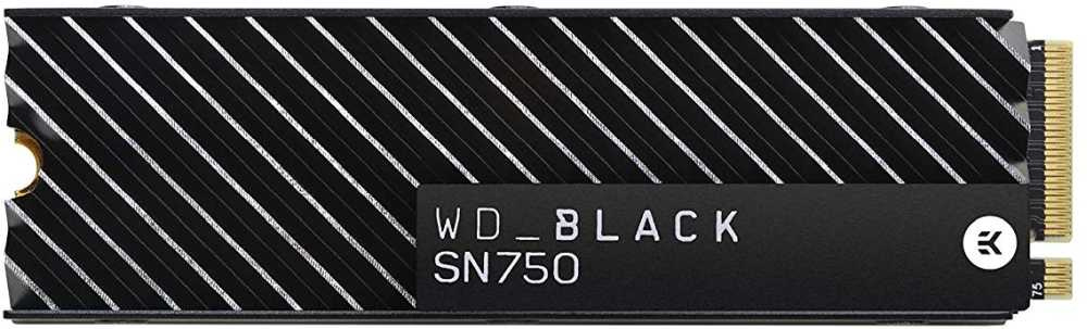 SSD накопитель Western Digital WD Black SN750 500 GB WDS500G3XHC