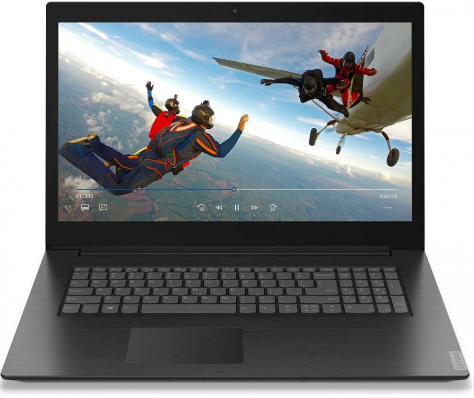 Ноутбук Lenovo IdeaPad L340 17IRH Core i5 9300H 8Gb 1Tb nVidia GeForce GTX 1050 3Gb 17.3 IPS FHD 1920x1080 noOS black WiFi BT Cam