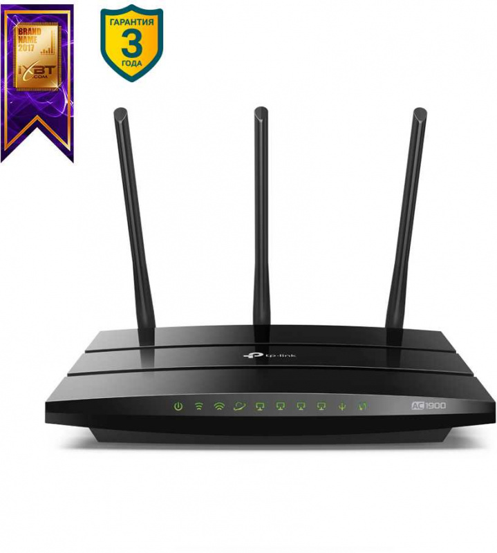 Роутер Wi-Fi Tp-Link Archer A9 Черный