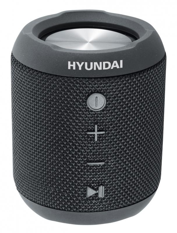 Компьютерная акустика Hyundai Портативная колонка H-PAC300 Черная