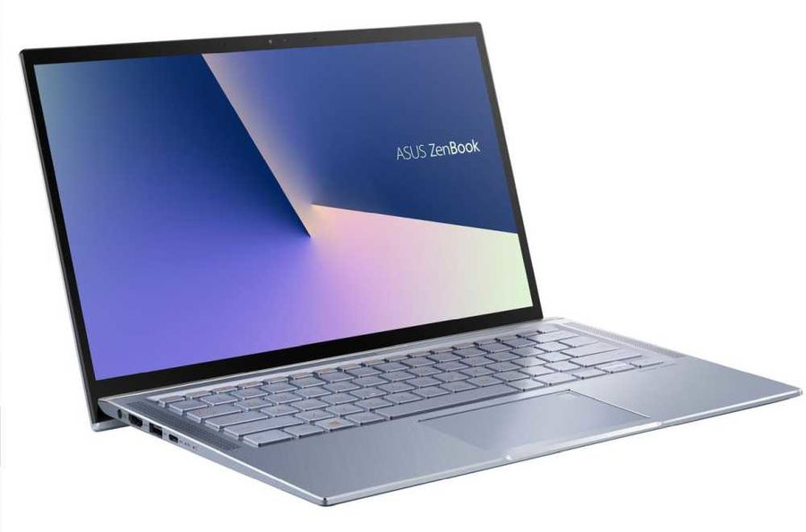 "Ноутбук Asus Zenbook UM431DA-AM010T Ryzen 5 3500U 8Gb SSD256Gb AMD Radeon Vega 8 14"" IPS FHD (1920x1080) Windows 10 lt.blue WiFi BT Cam Bag"