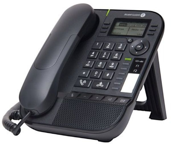 Системный телефон Alcatel -Lucent 8018 Черный
