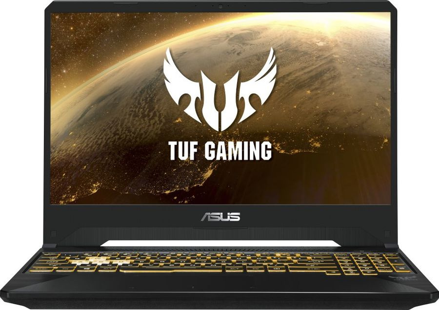 Ноутбук Asus TUF Gaming FX505DT BQ140T Ryzen 7 3750H 8Gb SSD512Gb nVidia GeForce GTX 1650 4Gb 15.6 IPS FHD 1920x1080 Windows 10 dk.grey WiFi BT Cam