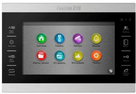 Видеодомофон Falcon Eye FE-70 ATLAS HD Черный