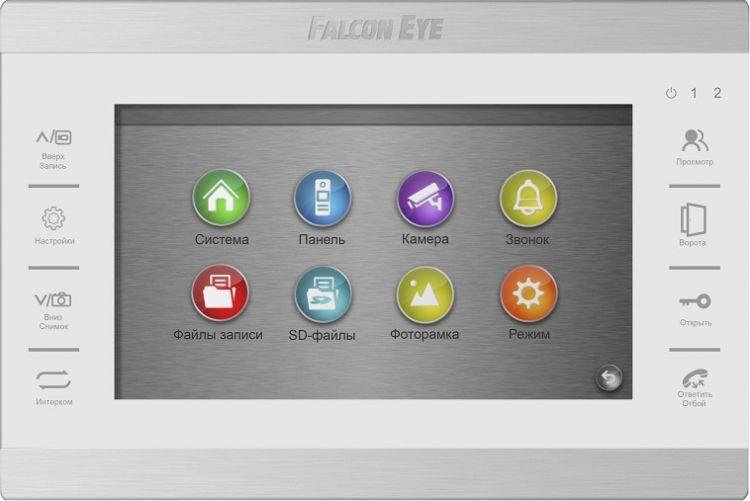 Видеодомофон Falcon Eye FE-70 ATLAS HD Белый
