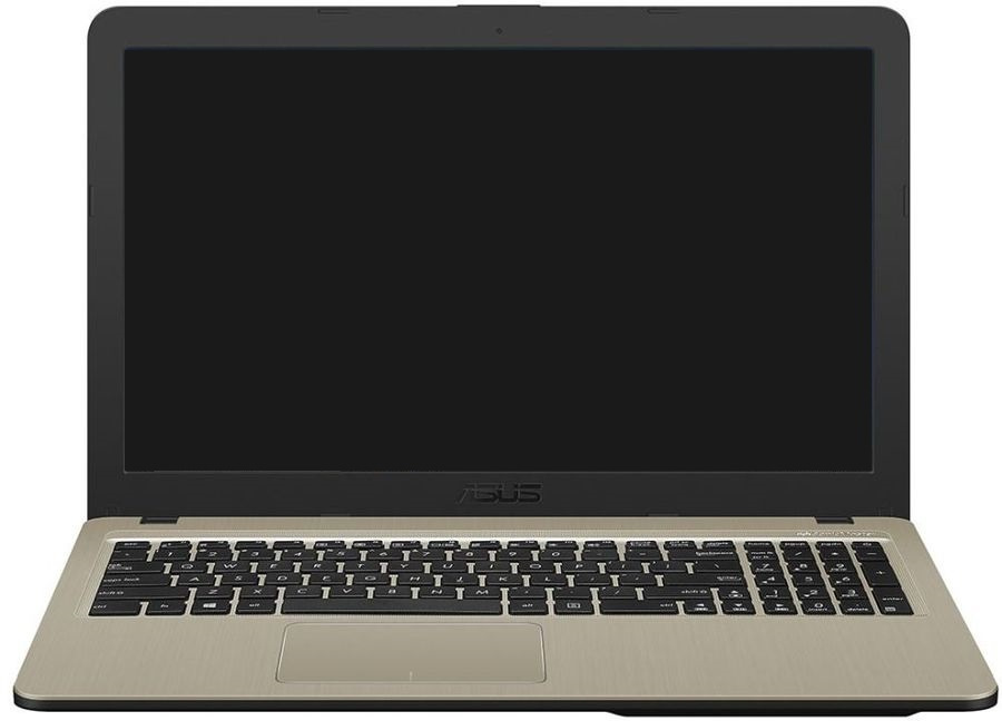 Ноутбук Asus VivoBook X540MA GQ120 Pentium Silver N5000 4Gb 500Gb Intel UHD Graphics 605 15.6 HD 1366x768 Endless black WiFi BT Cam