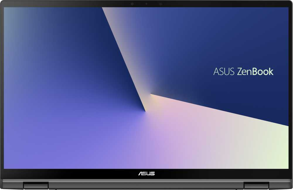 "Ноутбук Asus Zenbook Flip UX463FA-AI043T Core i5 10210U 8Gb SSD256Gb Intel UHD Graphics 14"" IPS Touch FHD (1920x1080) Windows 10 grey WiFi BT Cam Bag"