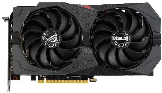 Видеокарта Asus ROG GeForce GTX 1660 SUPER ROG-STRIX-GTX1660S-O6G-GAMING видеокарта asus radeon rx vega 64 rog strix rxvega64 o8g gaming 8gb hbm2