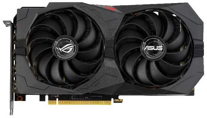 Видеокарта Asus ROG GeForce GTX 1660 SUPER (ROG-STRIX-GTX1660S-6G-GAMING) видеокарта asus radeon rx vega 64 rog strix rxvega64 o8g gaming 8gb hbm2