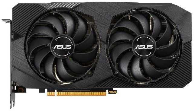 Видеокарта Asus DUAL Radeon RX 5500 XT EVO OC 8GB DUAL-RX5500XT-O8G-EVO видеокарта asus radeon rx vega 64 rog strix rxvega64 o8g gaming 8gb hbm2