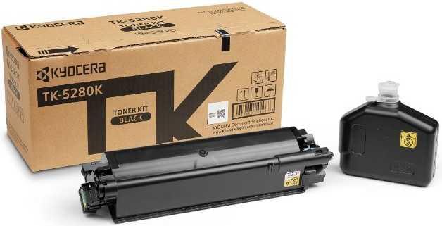 Картридж лазерный Kyocera TK-5280K черный (13000стр.) для Ecosys P6235cdn M6235cidn M6635cidn мфу kyocera ecosys m2235dn