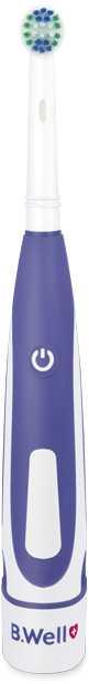 Электрическая зубная щетка B.Well Pro-810 Белая синяя