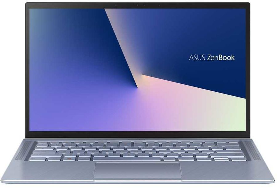 "Ноутбук Asus Zenbook UX431FA-AM196 Core i3 10110U 8Gb SSD256Gb Intel UHD Graphics 14"" FHD (1920x1080) Endless lt.blue WiFi BT Cam Bag"