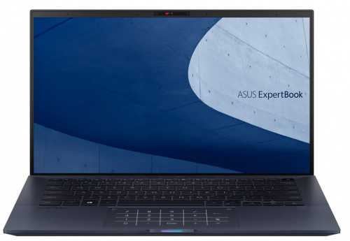 "Ноутбук Asus Pro B9450FA-BM0527R Core i7 10510U 16Gb SSD512Gb Intel UHD Graphics 14"" FHD (1920x1080) Windows 10 Professional black WiFi BT Cam Bag"