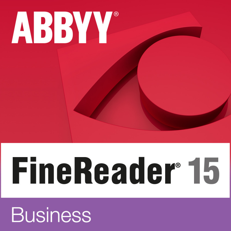 Программное обеспечение Abbyy ПО FineReader 15 Business box (AF15-2S1B01-102)