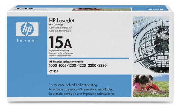 Картридж лазерный HP 15A C7115A черный (2500стр.) для LJ 1000w 1200 1220 1000W