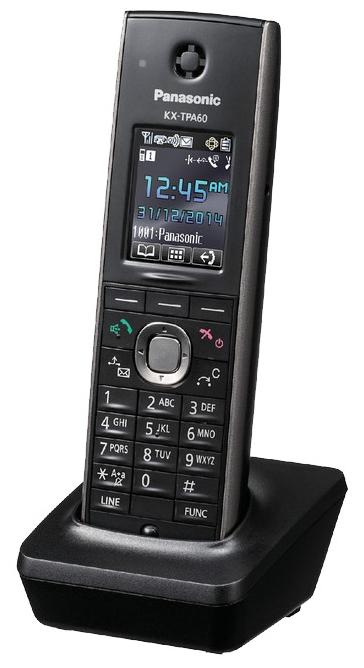 Дополнительная трубка Panasonic KX-TPA60RUB Черная