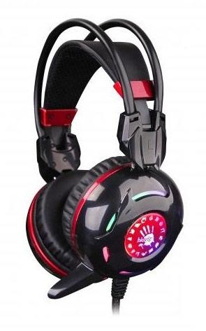Гарнитура A4Tech игровая A4 Bloody G300 Черно красная