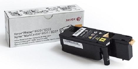 Картридж лазерный Xerox 106R02762 желтый (1000стр.) для Phaser 6020 6022 6025 6027