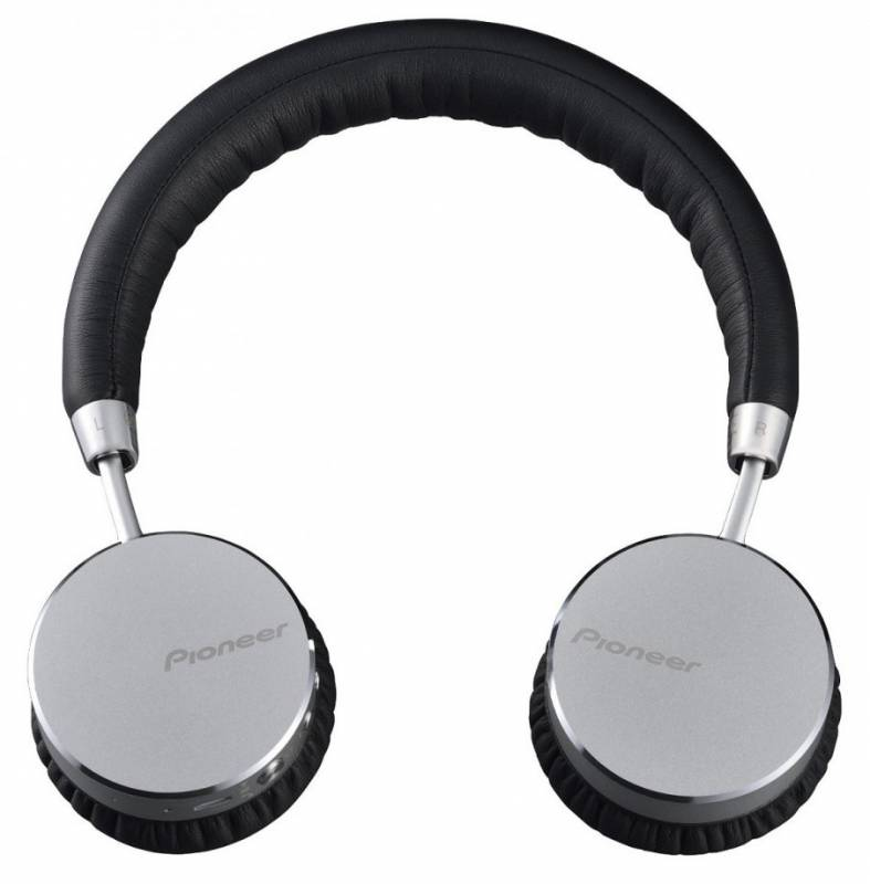 Наушники с микрофоном Pioneer SE-MJ561BT Bluetooth Серебристые