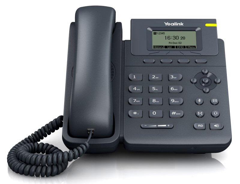 Телефон SIP Yealink SIP-T19 E2 Серый