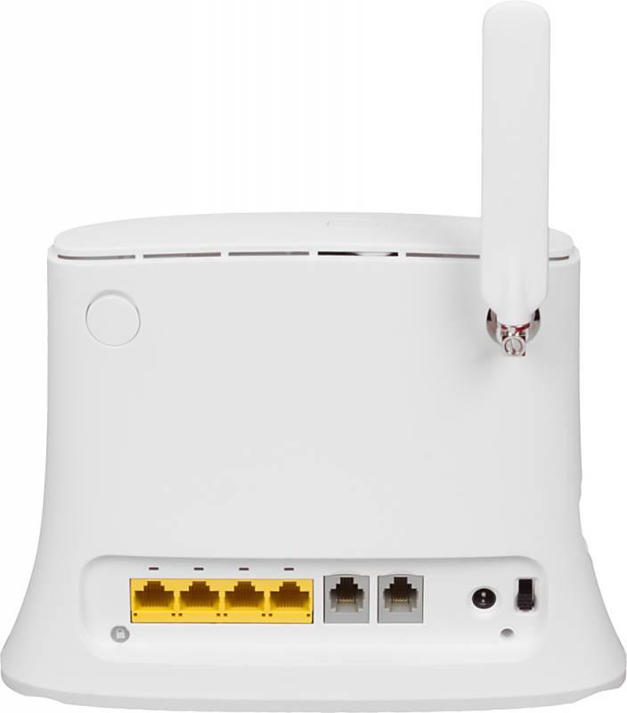 Фото - Роутер Wi-Fi ZTE MF283 Белый zte mf79 белый