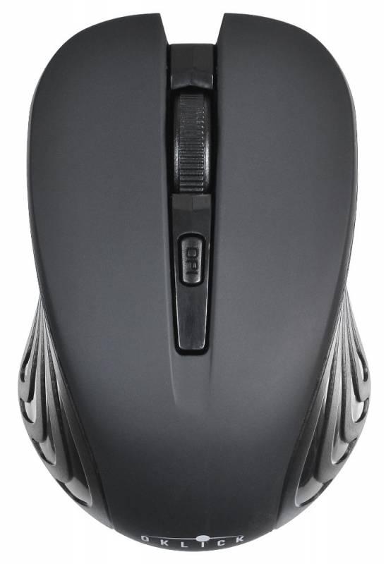 Мышь Oklick 545MW Оптическая Черная черная