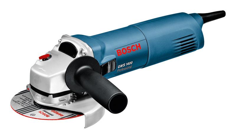 Шлифмашина угловая Bosch GWS 1400 1400Вт 125мм угловая шлифмашина bosch gws 26 230 lvi 0 601 895 f04