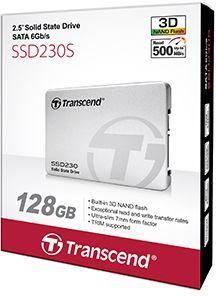 Твердотельный накопитель(SSD) Transcend SSD накопитель TS128GSSD230S 128Gb