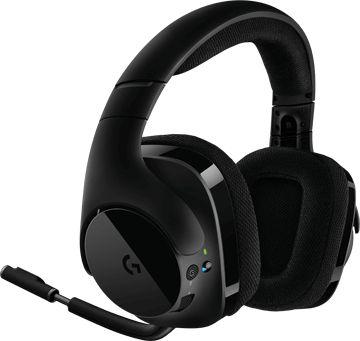 Гарнитура Logitech игровая G533 Черный гарнитура
