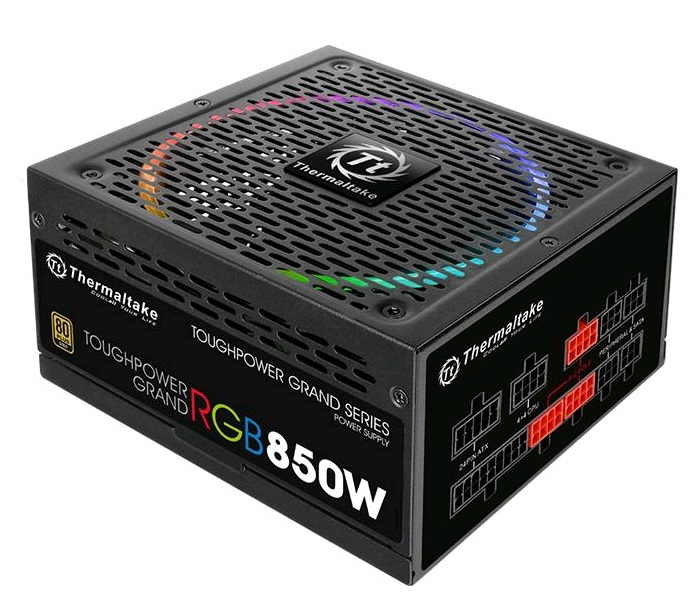 Блок питания Thermaltake ATX 850W Toughpower Grand RGB 80+ gold (PS-TPG-0850FPCGEU-R)