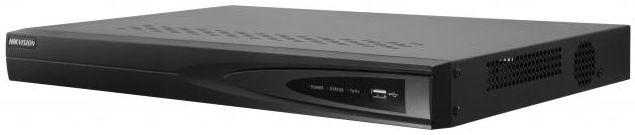 Сетевой видеорегистратор Hikvision Видеорегистратор DS 7604NI K1 4P Черный