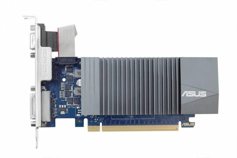 Видеокарта Asus GeForce GT 710 (GT710-SL-2GD5-BRK) видеокарта asus geforce gt 710 silent lp 2gb gt710 sl 2gd5 brk retail