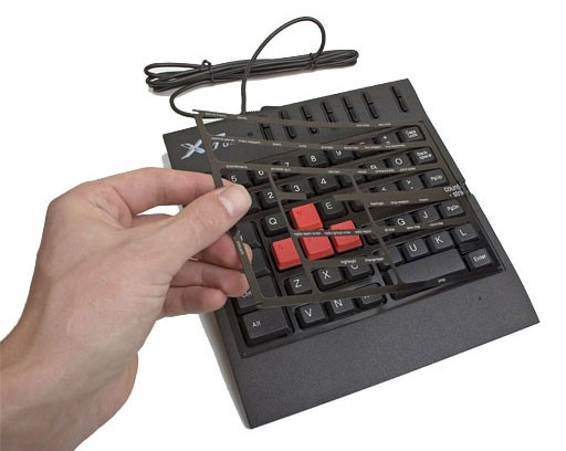 Игровой блок A4 X7-G100 черный USB Multimedia for gamer