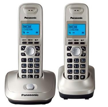 Фото - Радиотелефон Panasonic KX-TG2512 Платиновый радиотелефон alcatel smile grey