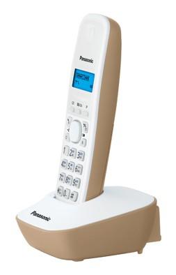 Фото - Радиотелефон Panasonic KX-TG1611 Белый радиотелефон alcatel smile grey