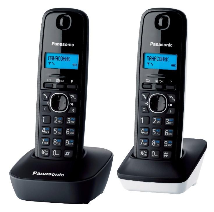 Радиотелефон Panasonic KX-TG1612 Серый радиотелефон