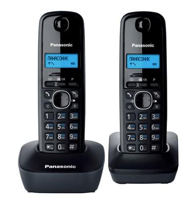 Фото - Радиотелефон Panasonic KX-TG1612 радиотелефон alcatel smile grey