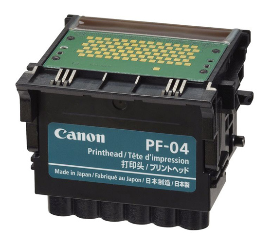 Печатающая головка Canon PF-04 3630B001 черный для iPF750 IPF755 печатающая головка canon printhead pf 04 3630b001