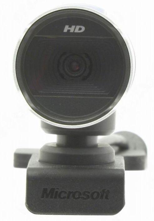 Web-камера Microsoft LifeСam Studio for Business Черно серебристая