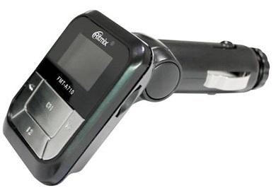 Фото - FM-трансмиттер Ritmix FMT-A710 fm трансмиттер eplutus fb 04 bt