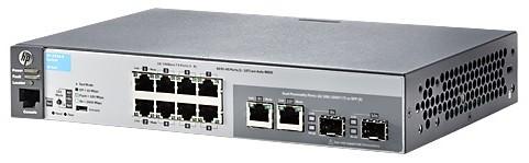 Коммутатор HPE Aruba 2530 J9780A 8x100Mb 2G 8PoE+ 67W