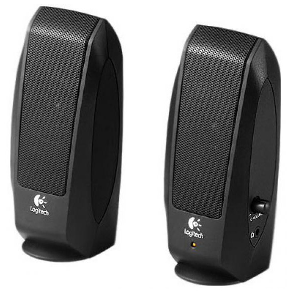 Компьютерная акустика Logitech S120 Черная