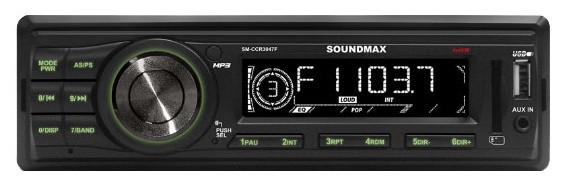 Автомагнитола Soundmax SM CCR3047F