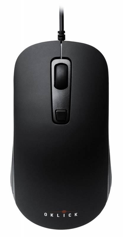 Мышь Oklick 155M Оптическая Черная черная