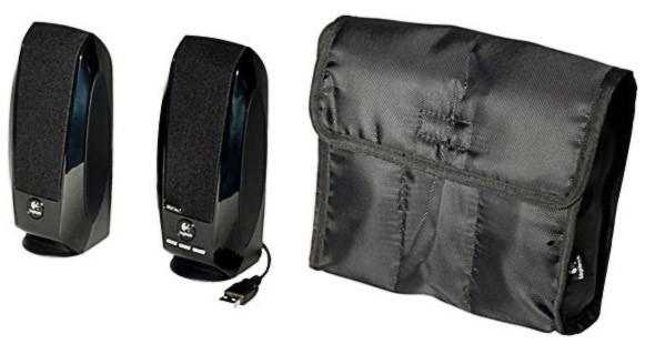 Компьютерная акустика Logitech S150 Черная