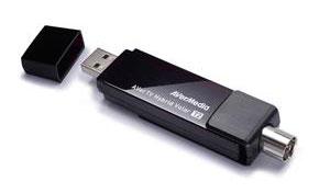 ТВ-Тюнер Avermedia Тюнер-ТВ FM AVerTV Hybrid Volar T2 H831 внешний USB PDU